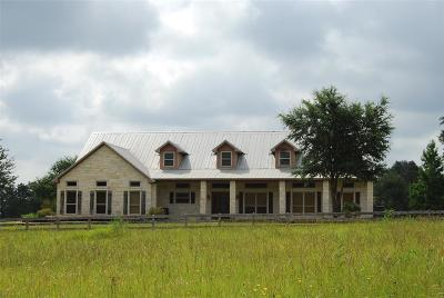 Austin County Country Home/Acreage For Sale: 606 Sycamore Crossing Road
