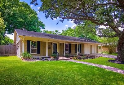 Houston Single Family Home For Sale: 9910 Cliffwood Drive
