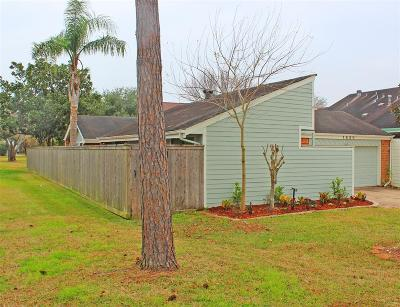 Houston Single Family Home For Sale: 1830 Sullins Way