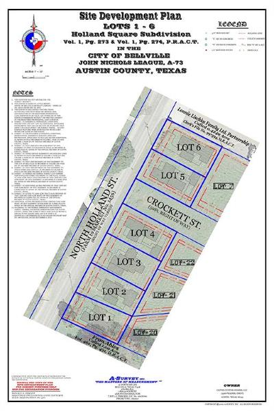 Bellville Residential Lots & Land For Sale: 401 North Holland Street