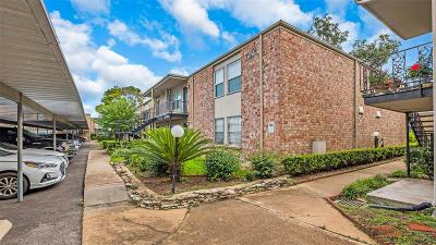 Houston Condo/Townhouse For Sale: 5550 N Braeswood Boulevard #122