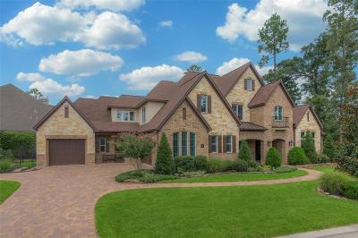 The Woodlands Single Family Home For Sale: 79 Player Crest Circle