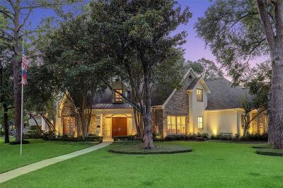 Hunters Creek Village Single Family Home For Sale: 516 Three Corners Drive