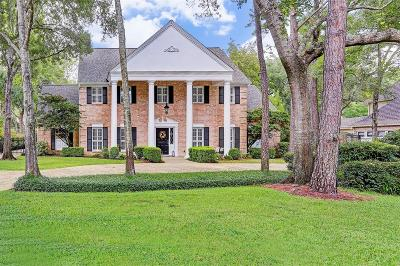 Bunker Hill Village Single Family Home For Sale: 11720 Cobblestone Drive