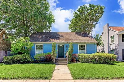 Houston Single Family Home For Sale: 1811 Lexington Street
