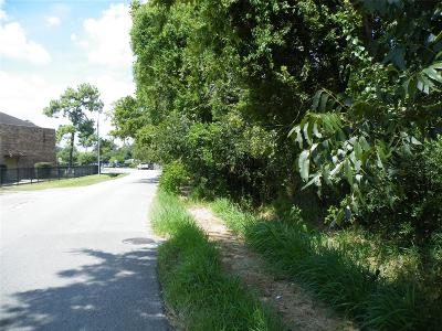 Houston Residential Lots & Land For Sale: 10102 Bauman Road