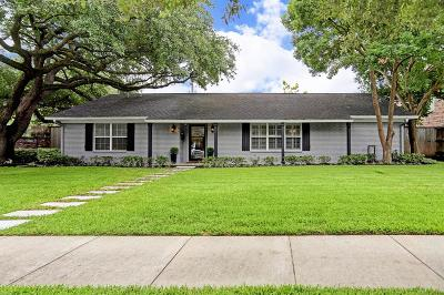 West University Place Single Family Home For Sale: 3707 Drake Street