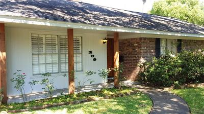 Seabrook Single Family Home For Sale: 209 Bayou View Drive