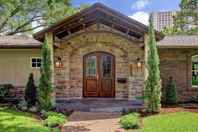 Houston TX Single Family Home For Sale: $1,247,000