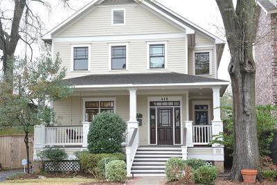 Houston Single Family Home For Sale: 415 Oxford Street