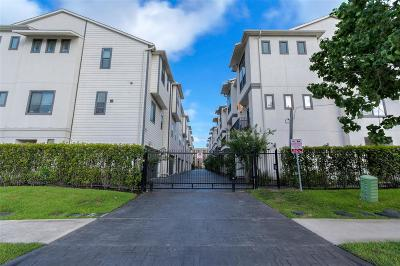 Houston Condo/Townhouse For Sale: 2514 Chenevert Street
