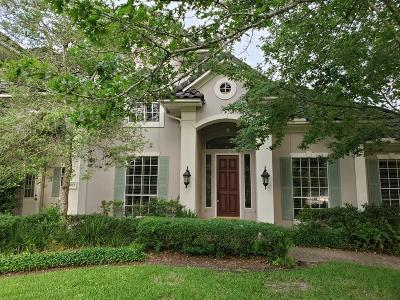 Houston Single Family Home For Sale: 18911 Windsor Lakes Drive