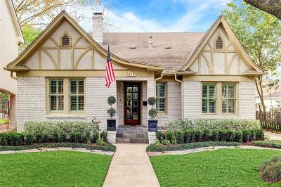 Houston Single Family Home For Sale: 3112 Rice Boulevard