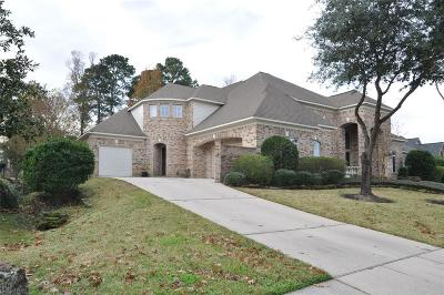 Houston Single Family Home For Sale: 31 Kingwood Greens Drive