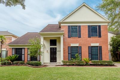 Missouri City Single Family Home For Sale: 4927 Cotter Lake Drive