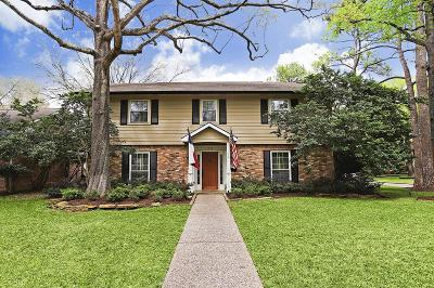 Houston Single Family Home For Sale: 14502 Carolcrest Drive