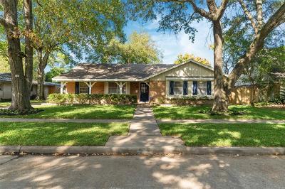 Houston TX Single Family Home For Sale: $280,000