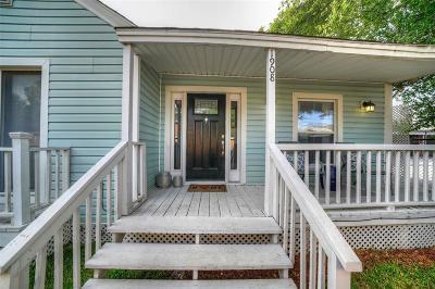 Houston Single Family Home For Sale: 1908 Taft Street