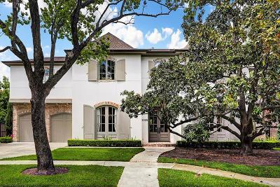 West University Place Single Family Home For Sale: 3020 Cason