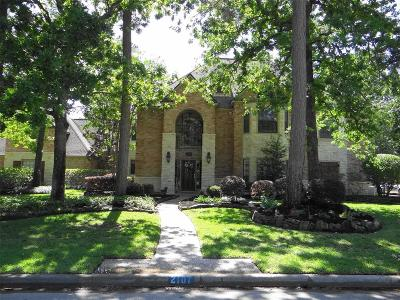 Kingwood Single Family Home For Sale: 2107 Seven Maples Drive