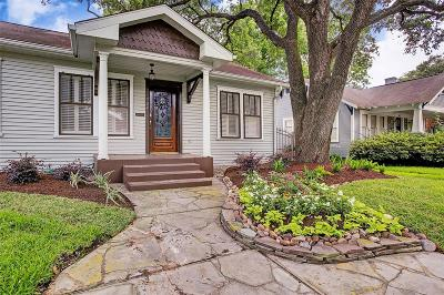 Houston Single Family Home For Sale: 724 W Temple Street