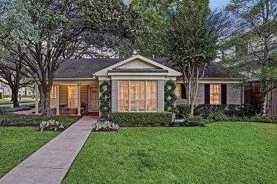 Houston Single Family Home For Sale: 4538 Waring Street
