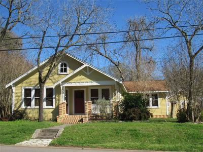 Washington County Single Family Home For Sale: 402 N Chappell Hill Street