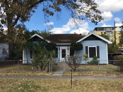 Houston Single Family Home For Sale: 215 W 8th Street
