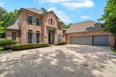 The Woodlands TX Single Family Home For Sale: $550,000