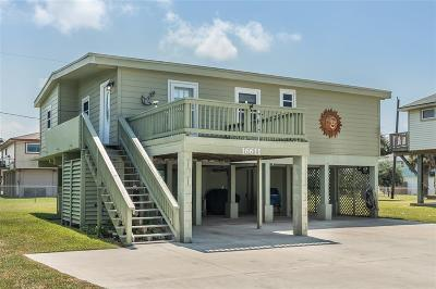 Jamaica Beach Single Family Home For Sale: 16611 Jolly Roger Road
