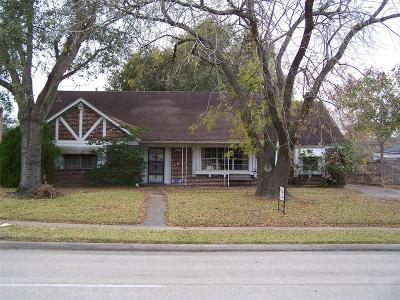 Houston Single Family Home For Sale: 11418 Hillcroft Street