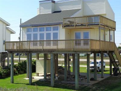 Galveston Single Family Home For Sale: 23149+50 Gulf