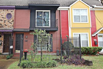 Houston Condo/Townhouse For Sale: 6209 Fondren Road #24