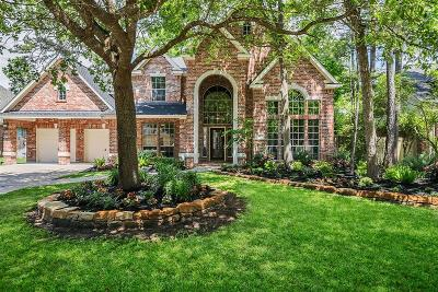The Woodlands TX Single Family Home For Sale: $595,000