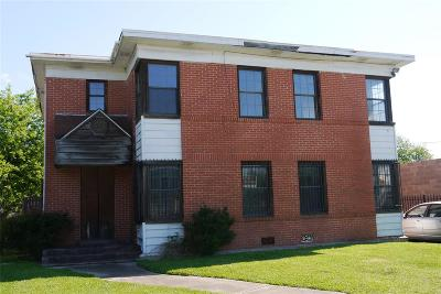 Houston Multi Family Home For Sale: 2319 Rosewood Street