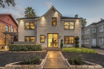 Houston Single Family Home For Sale: 1915 Hawthorne Street