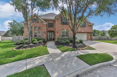 Katy TX Single Family Home For Sale: $550,000