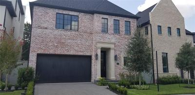 Bellaire Single Family Home For Sale: 5409 Alder Circle