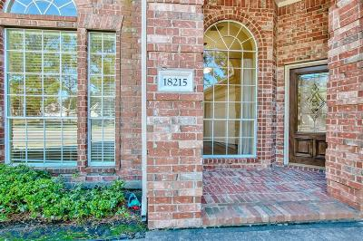 Houston Single Family Home For Sale: 18215 Eden Trails Lane
