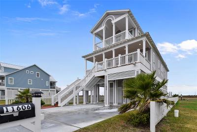 Galveston Single Family Home For Sale: 11606 Seabutterfly