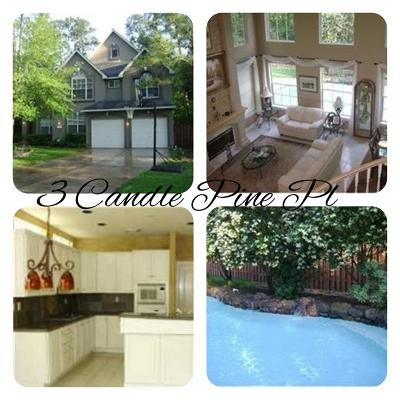 The Woodlands Single Family Home For Sale: 3 Candle Pine Place