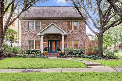 Houston Single Family Home For Sale: 2218 Tangley Street