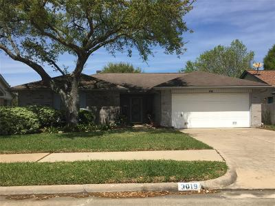 Pearland Single Family Home For Sale: 3019 S Peach Hollow Circle