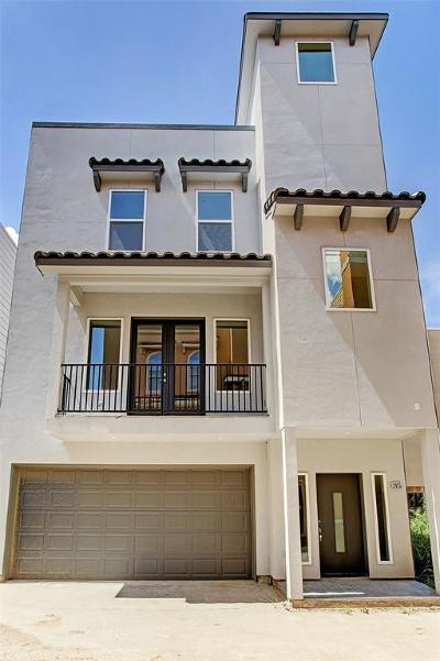 Houston Single Family Home For Sale: 2413 Chenevert Street