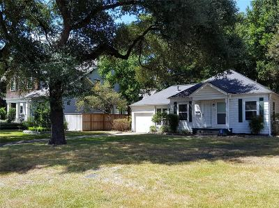 Houston Single Family Home For Sale: 408 W 30th Street