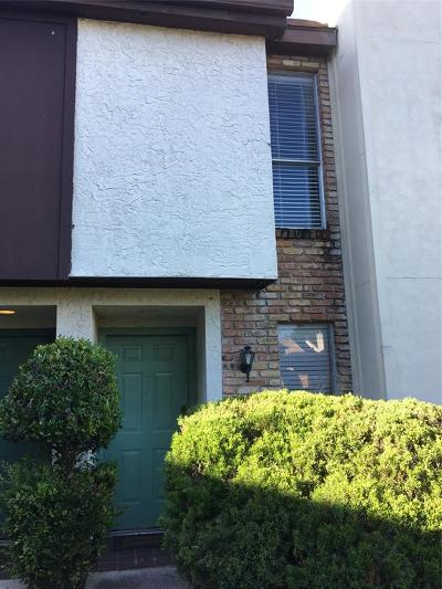 Houston TX Condo/Townhouse For Sale: $55,000