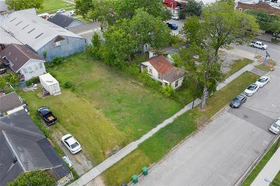 Houston Residential Lots & Land For Sale: 3309 Preston Street