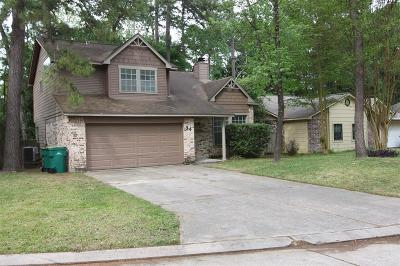 The Woodlands Single Family Home For Sale: 34 N Rain Forest Court