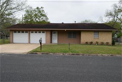 Schulenburg Single Family Home For Sale: 706 Melba Street