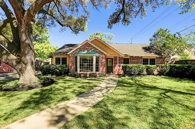 Houston TX Single Family Home For Sale: $649,000
